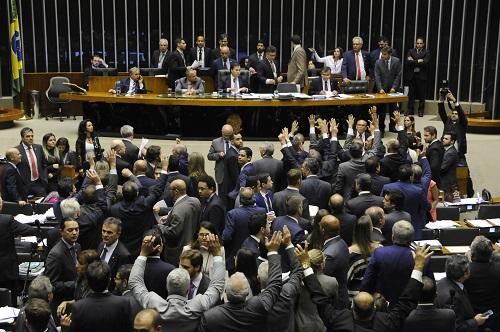 Plenário da Câmara dos Deputados (Foto: Luís Macedo)